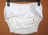 Ochranné inkontinenční kalhotky POLY ZAVINOVACÍ střední In-Tex