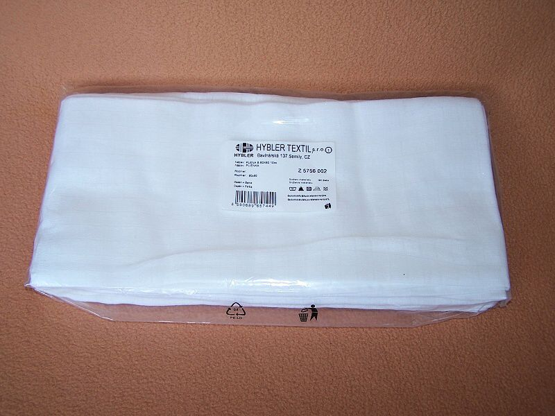 Plienka TETRA 80x80 cm Hybler textil