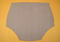 Ochranné inkontinenční kalhotky POLY DUO nízké - 1.bílá tričkovina In-Tex