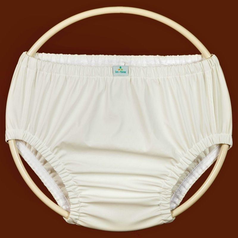 Ochranné inkontinenční kalhotky POLY FIX střední In-Tex
