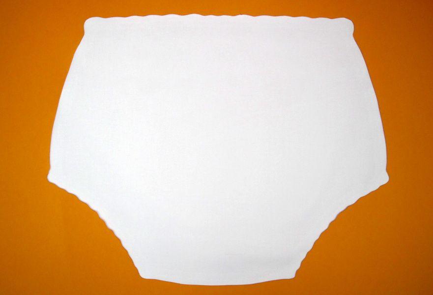 Ochranné inkontinenční kalhotky POLY ZAVINOVACÍ vysoké In-Tex