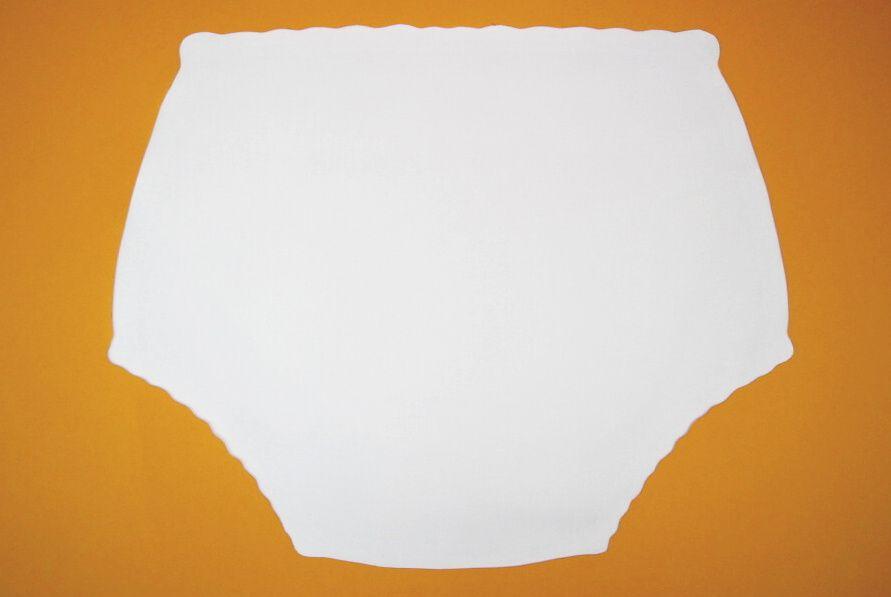 Ochranné inkontinenční kalhotky PVC DUO ZAPÍNACÍ střední In-Tex