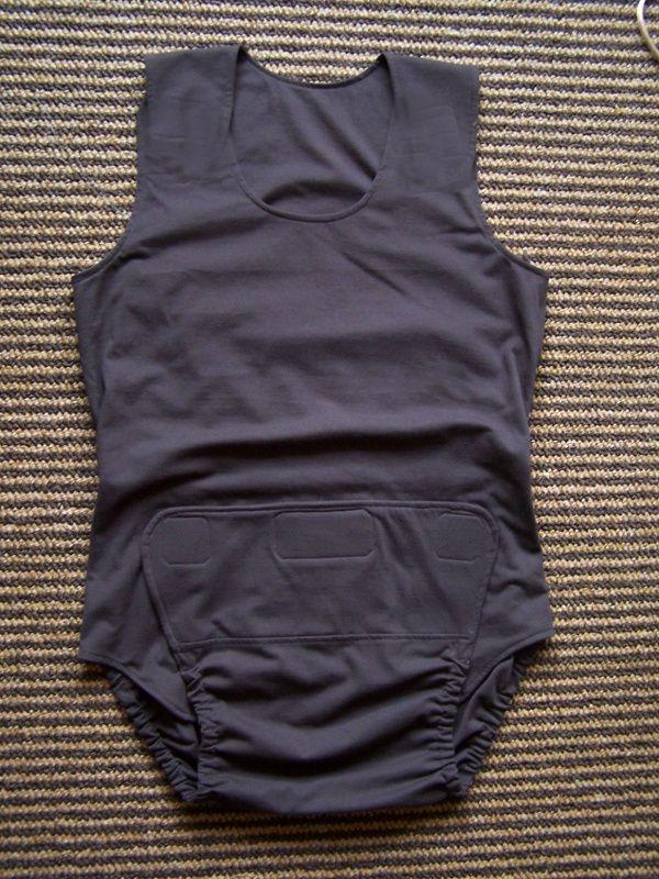 Body pro inkontinenci IN TEX POLY bez rukávů In-Tex