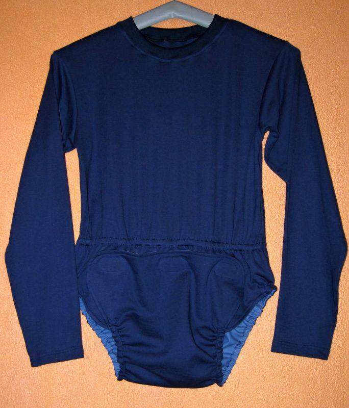 Body pro inkontinenci IN TEX POLY - dlouhé rukávy, v pase guma In-Tex