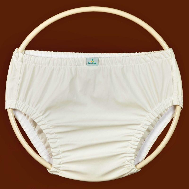 Kalhotky POLY DUO SAN FIX, vel.4 nízké, bílý dederon In-Tex