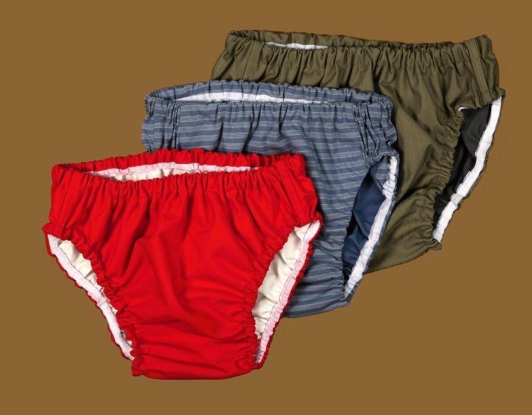 Kalhotky POLY DUO vel.4 slip, černé In-Tex