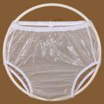 Kalhotky PVC KLASIK, vel.3 vysoké, transparentní