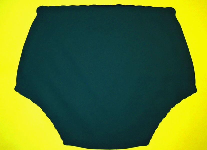 Ochranné inkontinenční kalhotky POLY FIX vysoké - petrolejově zelená In-Tex