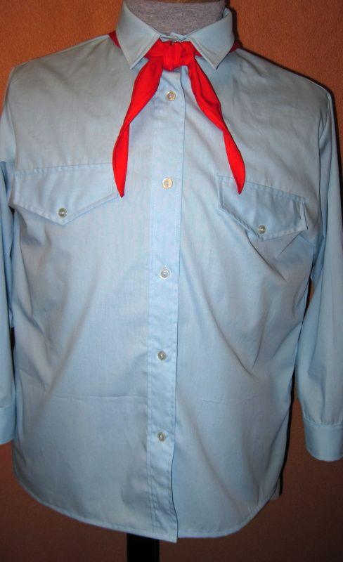 Pionýrská košile s dl. rukávy- replika In-Tex
